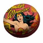 Caixa de Som DC Comics Wonder Woman Page Rosa em EVA - Urban - 8x3 cm