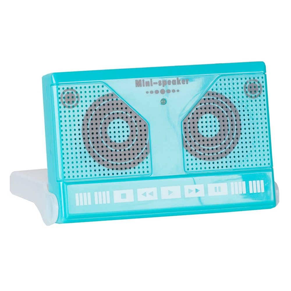 Caixa de Som Fita Cassete Azul - Urban - 11,5x7,5 cm