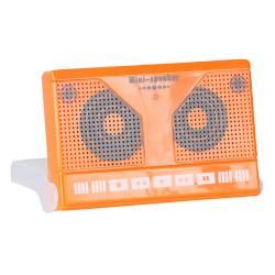 Caixa de Som Fita Cassete Laranja - Urban - 11,5x7,5 cm R$ 40,99 R$ 28,99 1x de R$ 26,09 sem juros