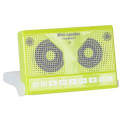 Caixa de Som Fita Cassete Verde - Urban - 11,5x7,5 cm R$ 36,99 R$ 25,99 1x de R$ 23,39 sem juros