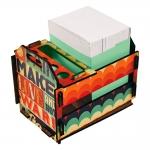 Caixotinho Make Love - Carpe Diem - Colorido MDF - 12x11 cm