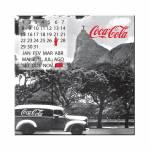 Calendário Magnético Coca-Cola Landscape Rio de Janeiro em MDF - Urban - 40x40 cm