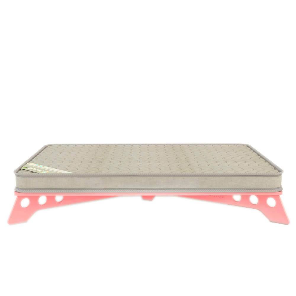 Cama para Pet PetSlim Rosa Grande em MDF - 105x73 cm