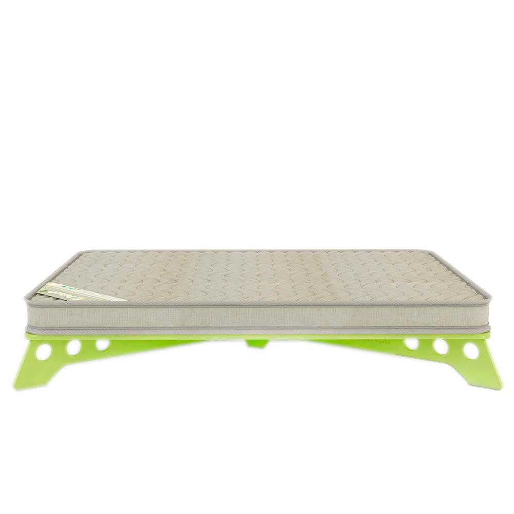 Cama para Pet PetSlim Verde Grande em MDF - 105x73 cm