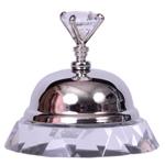 Campainha Decorativa Diamonds em Metal