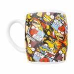 Caneca Bartman História em Quadrinhos - The Simpsons - em Cerâmica - 11x8 cm