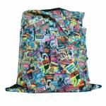 Capa para Almofada DC Comics DC All Types of Covers em Poliester - Urban - 115x90 cm