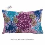 Capa para Almofada Hanna Floral Colorida em Algodão