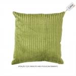 Capa para Almofada Katari Verde em Viscose - 45x45 cm
