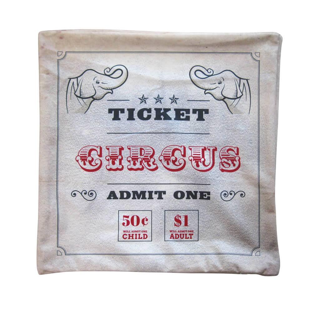 Capa para Almofada Loft Circus em Poliester - Urban - 45x45 cm