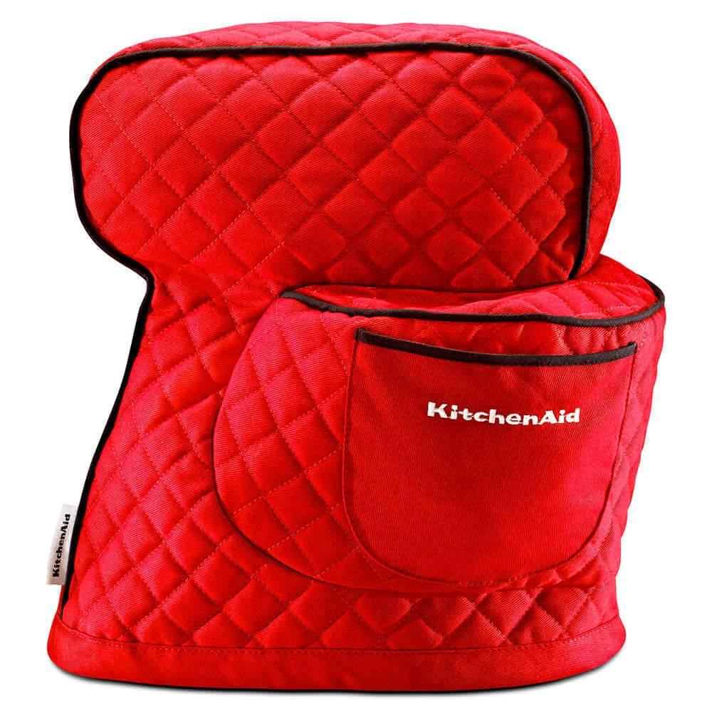 Capa de Proteção para Stand Mixer KitchenAid Vermelha em Algodão - KI741AV - 38,1x25,4 cm