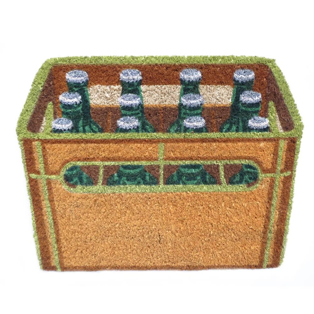 Capacho Engradado de Cerveja em Fibra de Coco e PVC - Urban - 60x45 cm