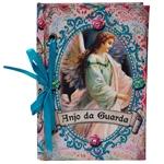 Carderno de Anotações Anjo da Guarda em Madeira