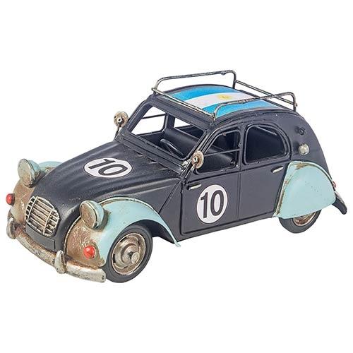 Carro Argentina Citroën com Bag Cup Preto Oldway - 28x12 cm