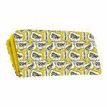 Carteira Bordões Homer Simpson Amarelo em PU - 19x9 cm