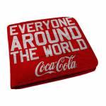 Carteira Coca-Cola Giving a Delicious Moment Vermelho em PU - Urban - 12x9 cm
