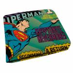 Carteira DC Comics Flying Superman em PU - Urban - 12x9 cm