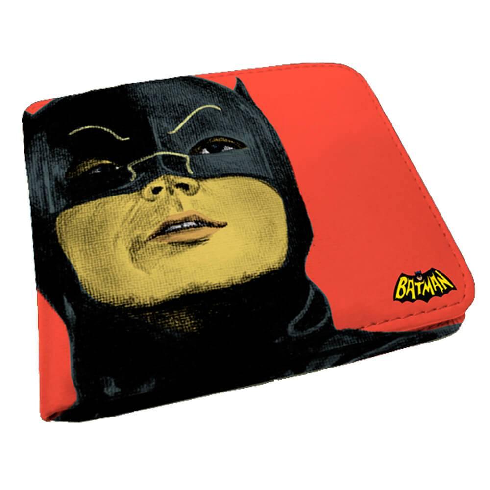 Carteira DC Comics Movie Batman Face Rosa em PU - Urban - 12x9 cm