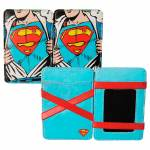 Carteira DC Comics Superman Opening the Shirt em PU - Urban - 10,2x7,4 cm