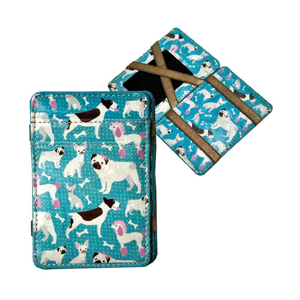 Carteira Magic Wallet Dogs em PU - Urban - 11x7,3 cm