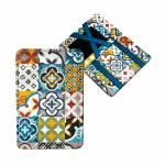 Carteira Magic Wallet Ladrilhos em PU - Urban - 11x7,3 cm