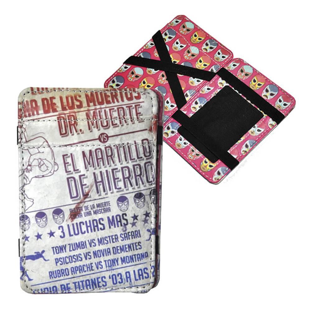 Carteira Magic Wallet Mucha Lucha em PU - Urban - 11x7,3 cm