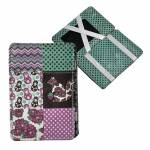 Carteira Magic Wallet Patchwork With Dots em PU - Urban - 11x7,3 cm
