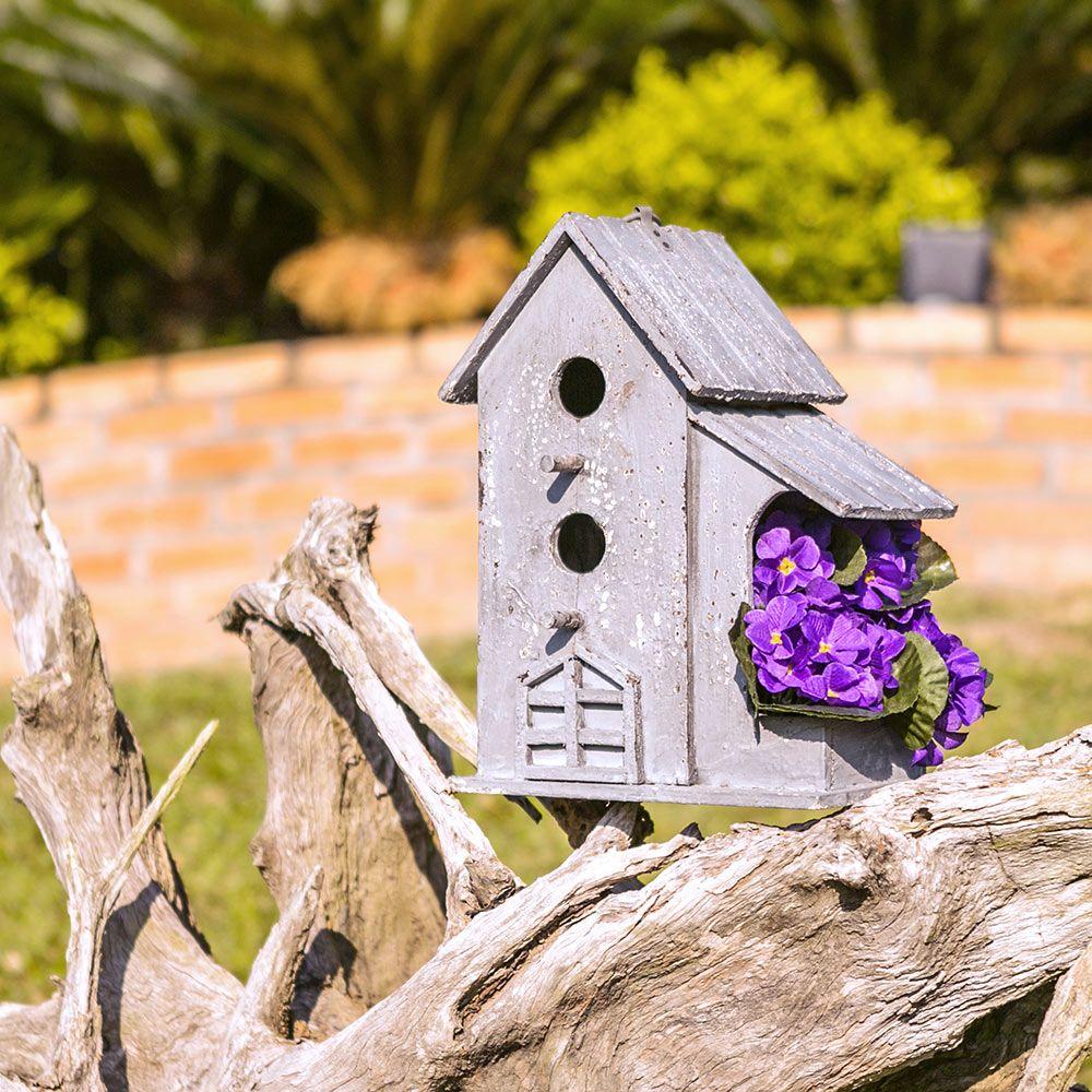 Casa de Pássaro c/ Varanda Greenway - 35x25 cm