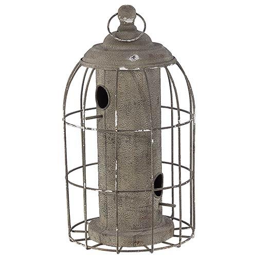 Casa de Pássaro Gaiola Cercada Greenway - 45x25 cm