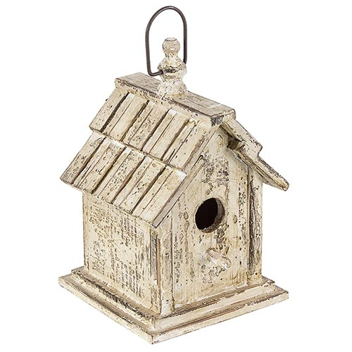 Casa de Pássaro Telhado Ondulado Greenway - 28x17 cm