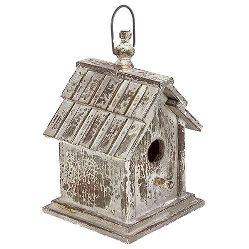 Casa de Pássaro Telhado Ondulado e Puleiro Greenway - 28x17 cm