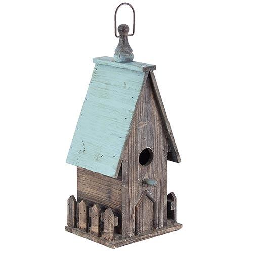 Casa de Pássaro Tipo Cabana Greenway - 40x18 cm