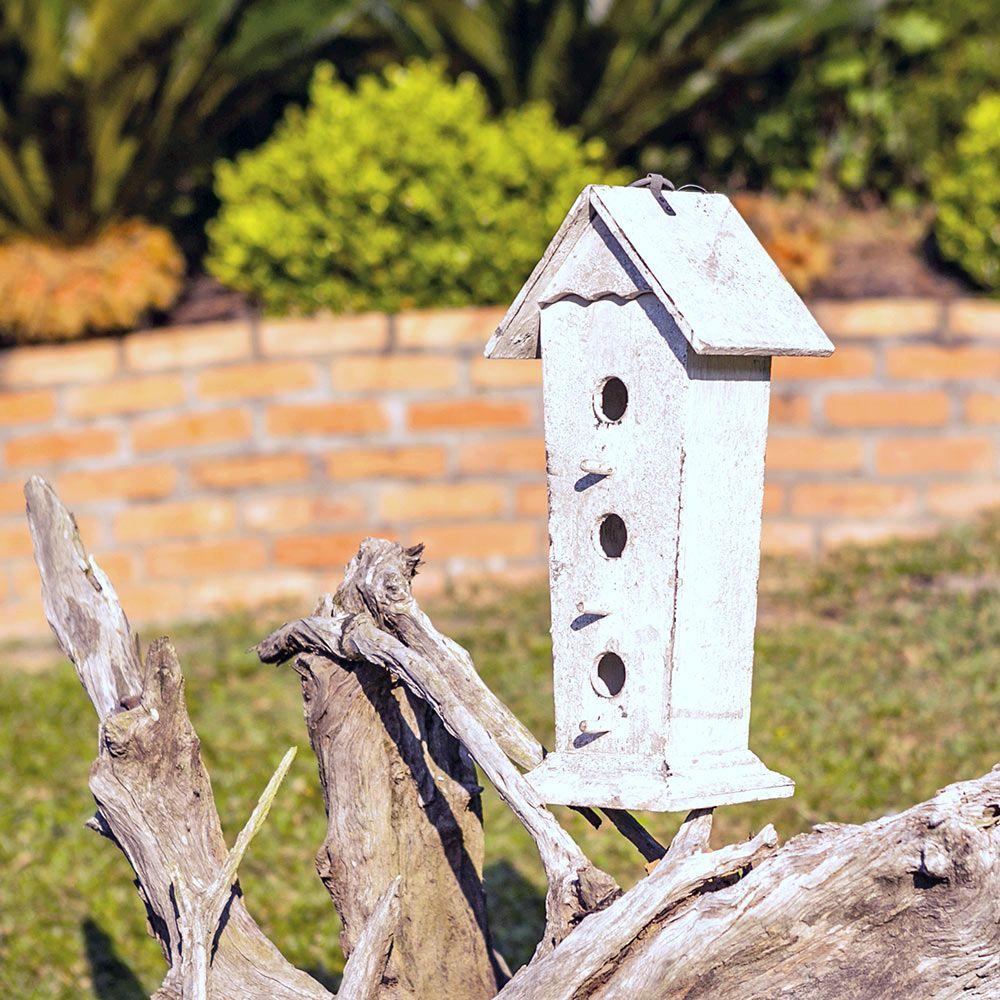 Casa de Pássaro Três Andares Greenway - 41x19 cm