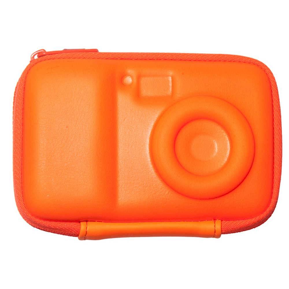 Case para Câmera Smart Shape Laranja em Silicone - Urban - 12x9 cm