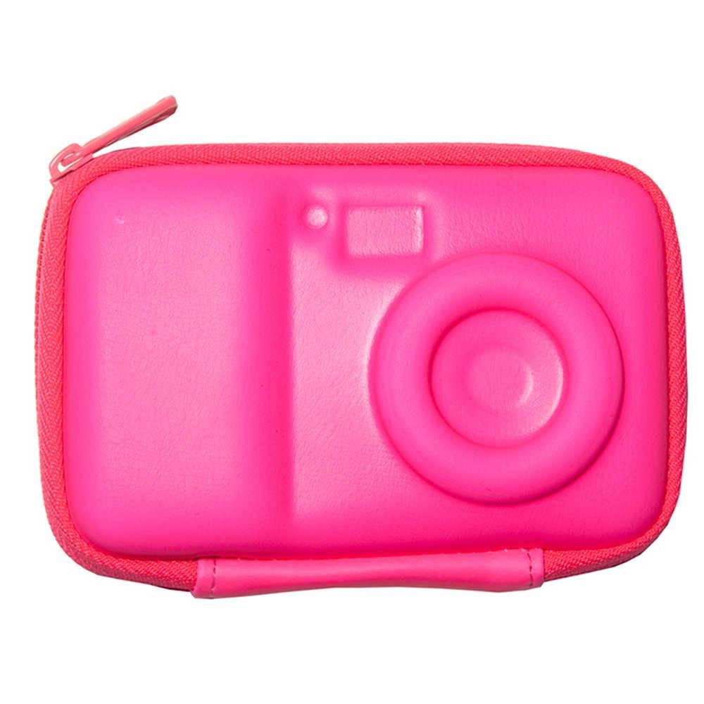 Case para Câmera Smart Shape Pink em Silicone - Urban - 12x9 cm