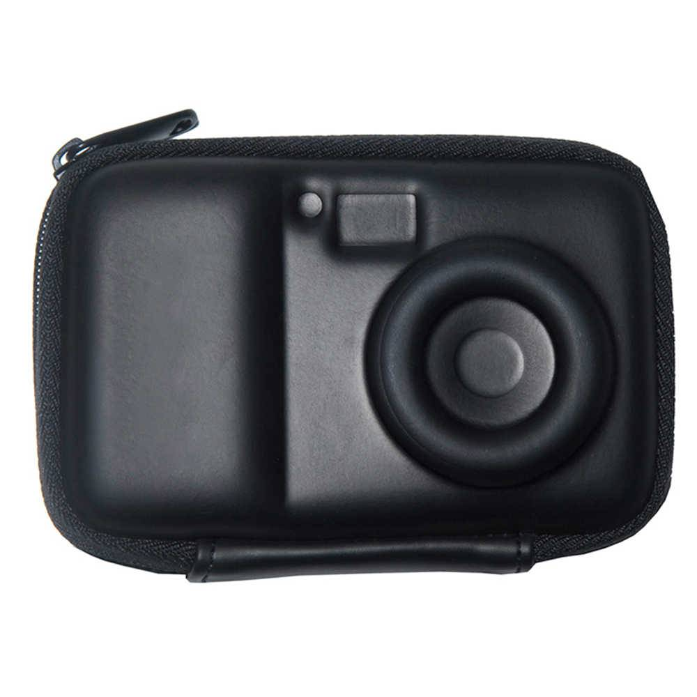 Case para Câmera Smart Shape Preta em Silicone - Urban - 12x9 cm