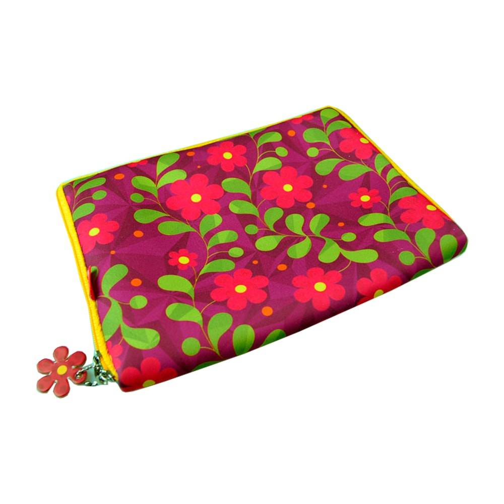 Case para Notebook 10 Florinda - Carpe Diem - em Neoplex - 28x22 cm