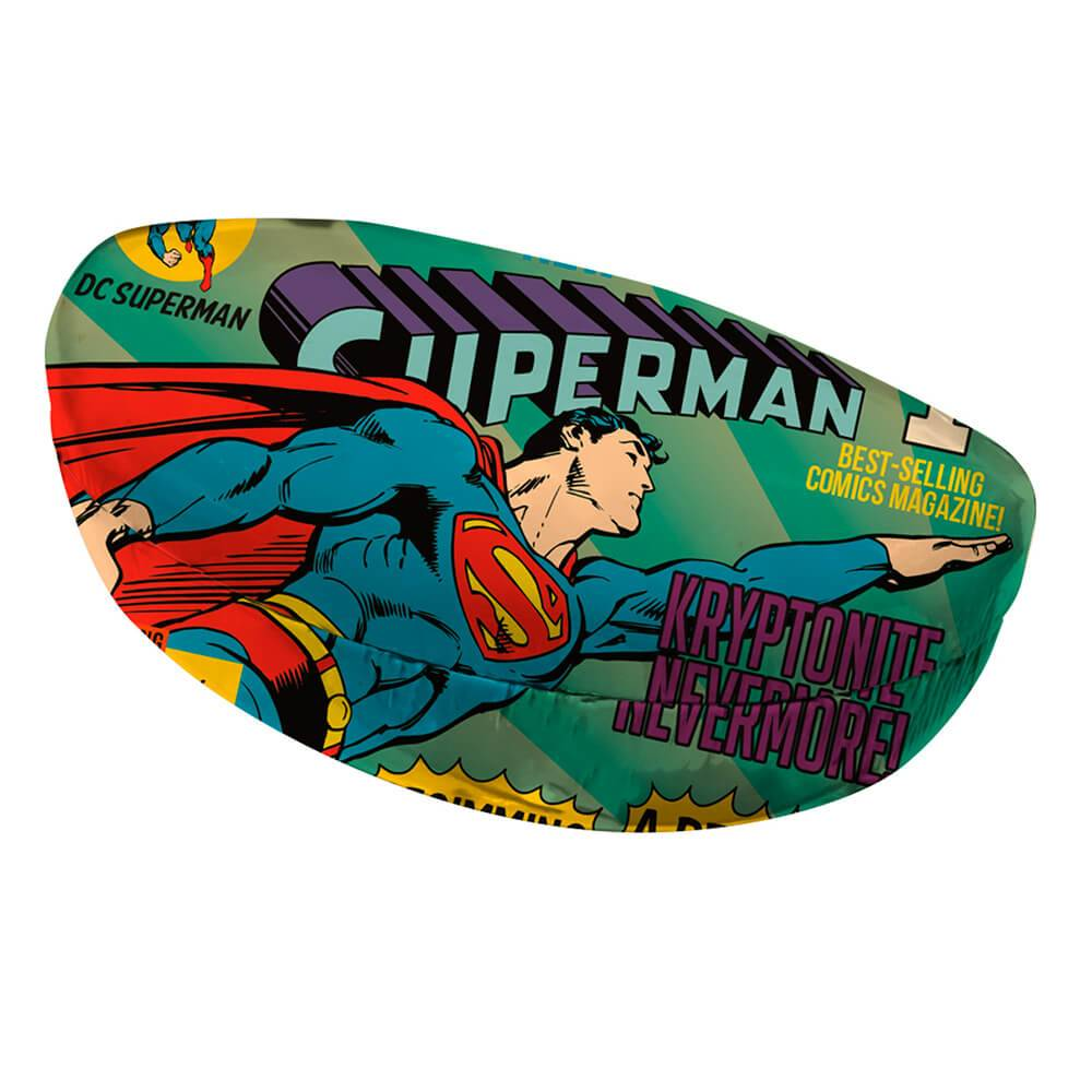 Case Porta Óculos DC Comics Superman Flying Azul em PU - Urban - 16,5x8 cm
