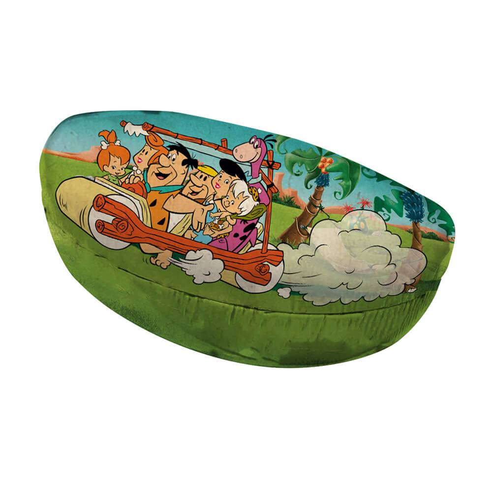Case Porta Óculos Hanna Barbera Flintstones Family In a Car Colorida em PU - Urban - 16,5x8 cm