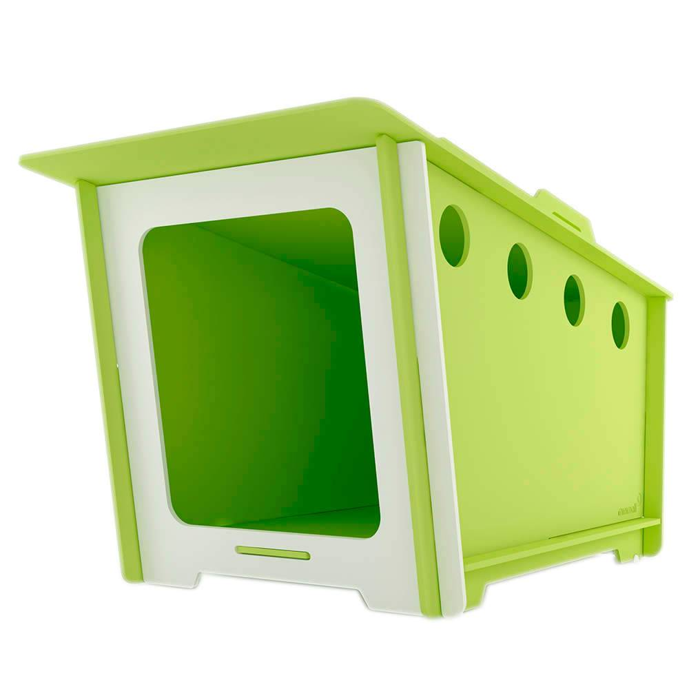 Casinha para Pet MiniHaus Verde em MDF - Grande - 143x86 cm