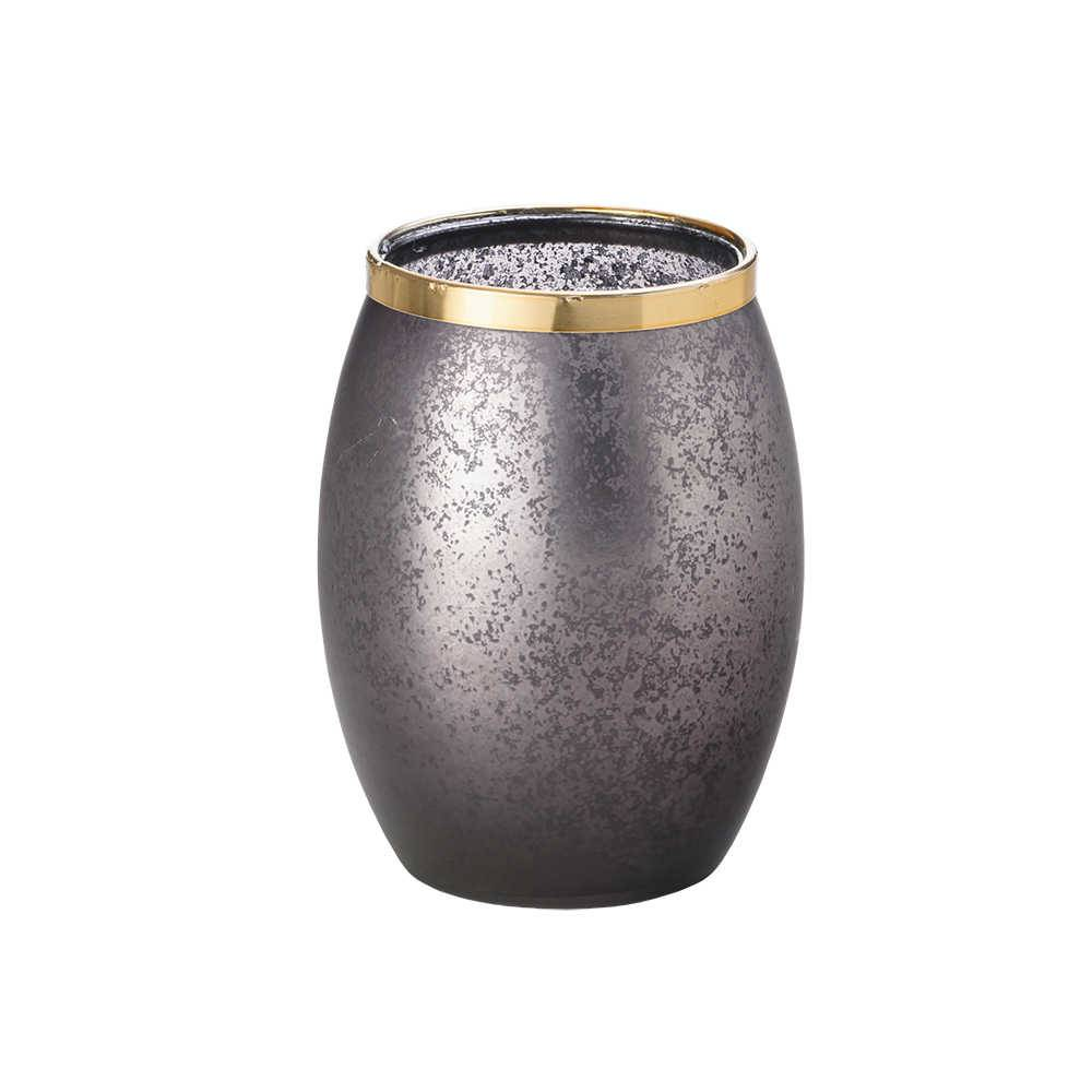 Castiçal Monie em Vidro - Lyor Classic - 14x9,5 cm