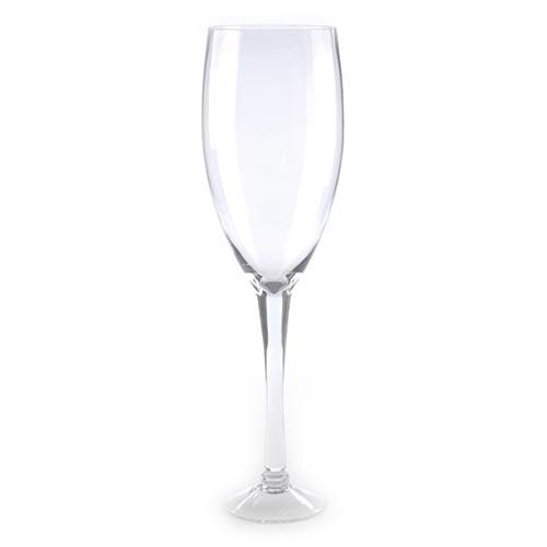 Castiçal/Donzela Taça Transparente - 60x17 cm