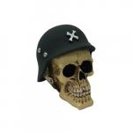 Caveira capacete guerra
