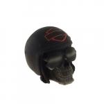 Caveira capacete Harley minimalista