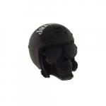 Caveira capacete Jack Daniels preto