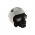Caveira capacete rock