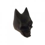 Caveira morcego preta