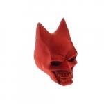 Caveira morcego vermelha