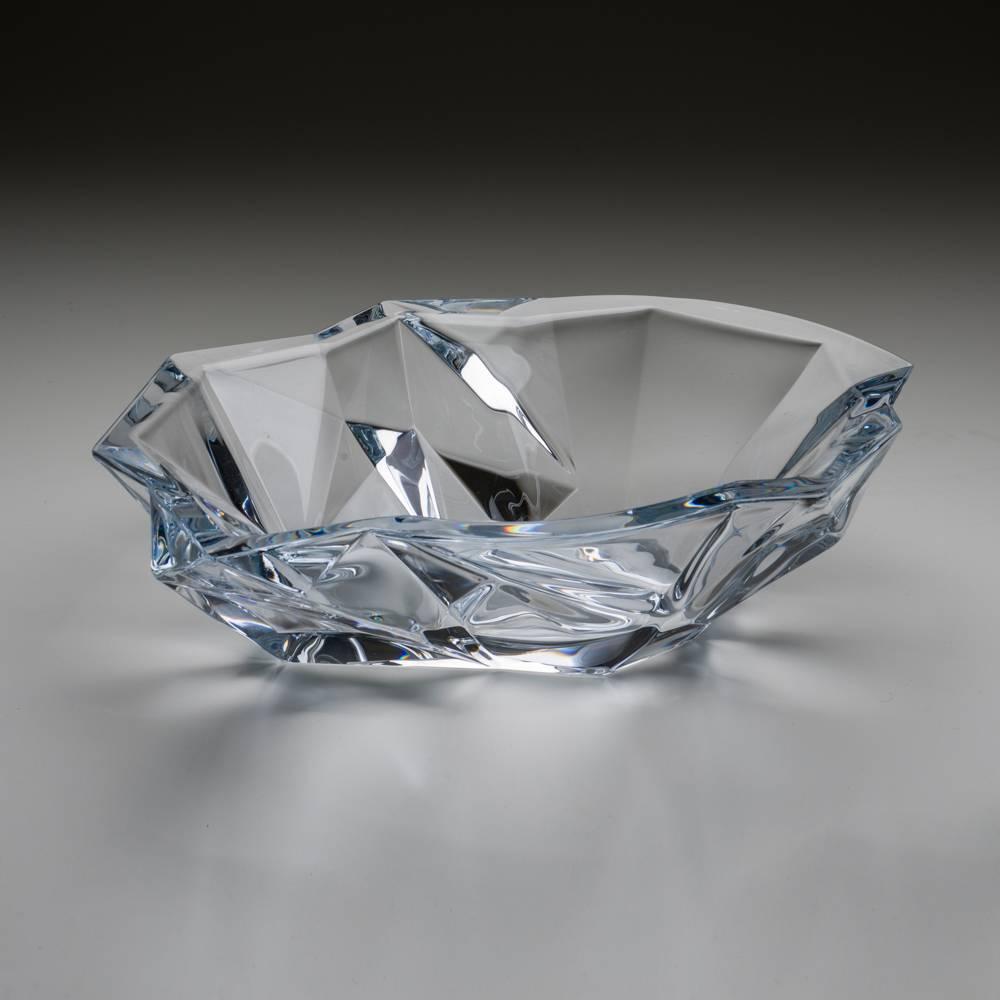 Centro de Mesa Angle em Cristal - 35 cm