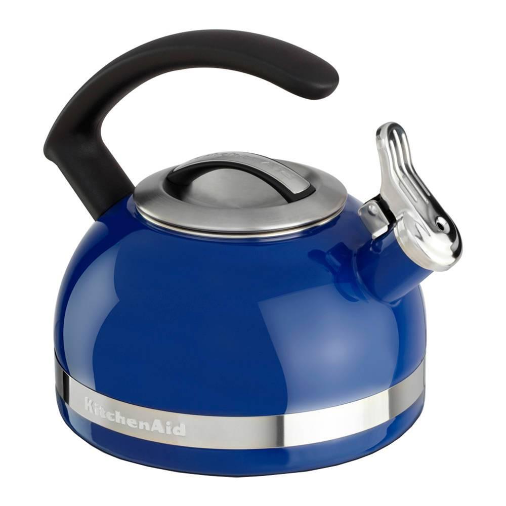 Chaleira com Apito KitchenAid 1,9 Litros Doulton Blue - KI962AZ - 21x19,8 cm